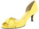 Nina - Culver (Canary Yellow Satin) - Footwear