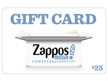 Zappos Gift Cards B2C Zappos $25 Gift Card (Zappos) Gift Cards Gifts