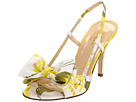 Kate Spade New York - Stella (Yellow/Green Bridal Floral Print Fabric) - Footwear