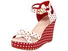 Bass - Danita (Cream/Cherry Polka Dots) - Footwear