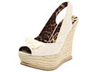 Betsey Johnson - Ffab (Natural Lace) - Footwear