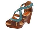 Miz Mooz - Petra (Brown/Turquoise) - Footwear