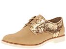 Sperry Top-Sider - Delancey (Tan/Gold Glitter) - Footwear