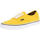Vans - Authentic (Lemon Chrome/Black) - Footwear