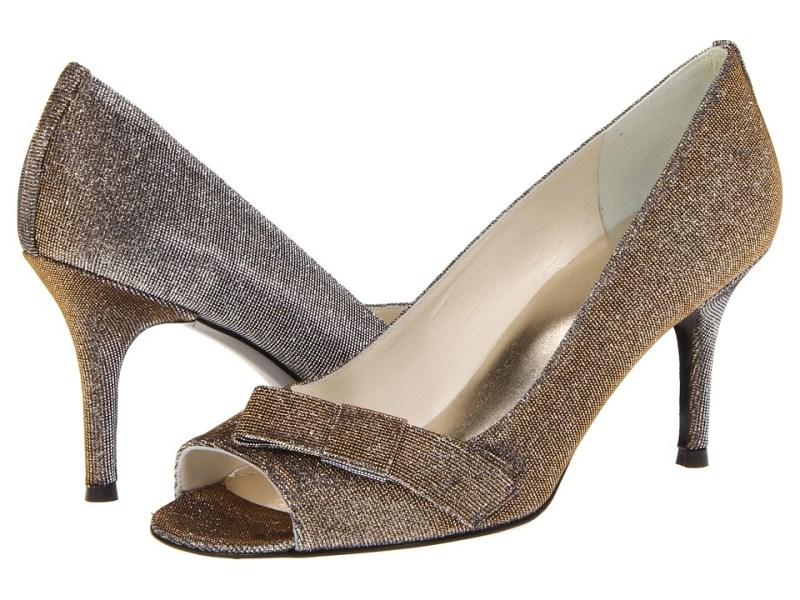 Stuart Weitzman Bridal & Evening Collection Bowover (Pyrite Nocturn) High Heels