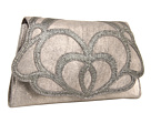 Foley & Corinna - Lotus Clutch (Silver Gravel) - Bags and Luggage