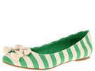 BC Footwear - Open and Shut Case (Green Stripe) - Footwear
