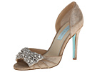 Blue by Betsey Johnson - Gown (Silver Metallic) - Footwear
