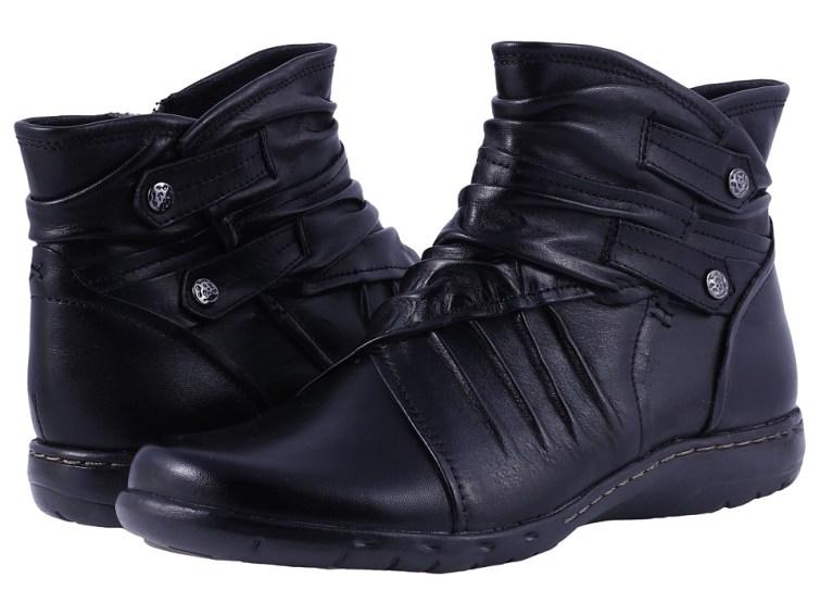 Cobb Hill Pandora (Black) Women's Pull-on Boots