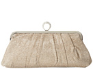 Jessica McClintock - Ring Form Clutch (Champagne) - Bags and Luggage
