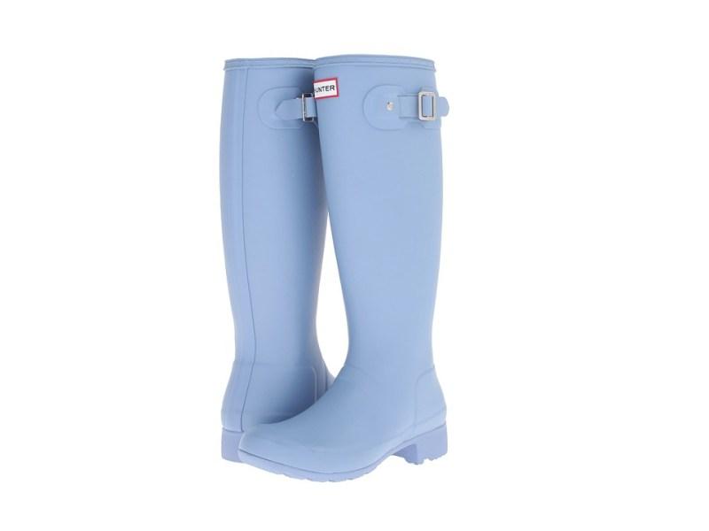 Hunter Original Tour (Blue Lily) Women's Rain Boots