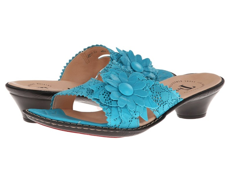 Think! Soso Damen - 82513 (Atoll/Kombi) Women's Slide Shoes