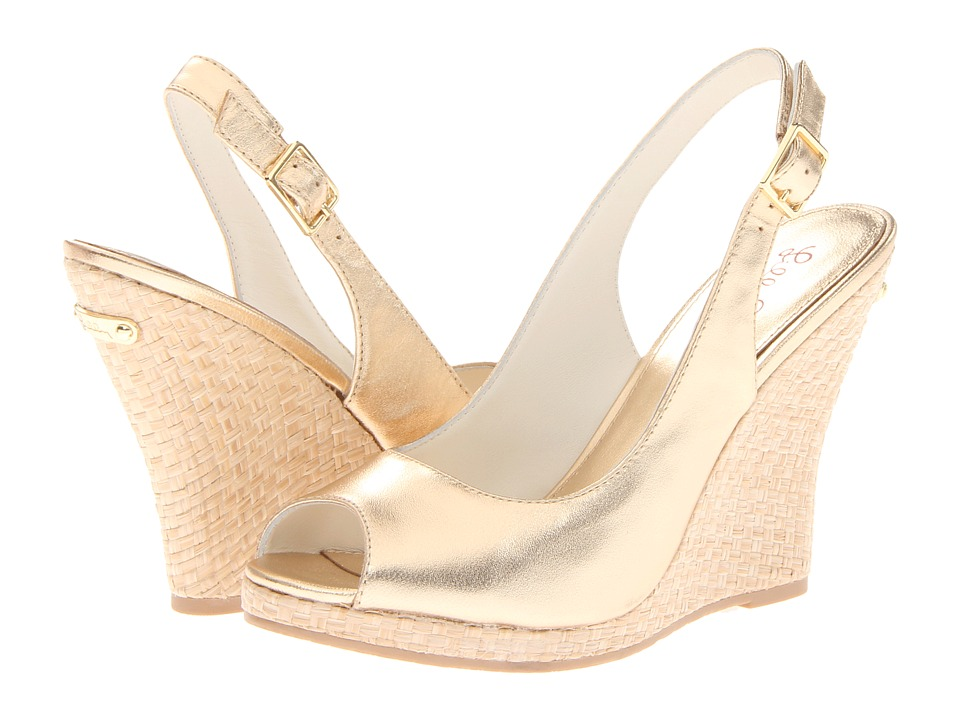 Lilly Pulitzer - Kristin Wedge (Gold Metallic) Women's Wedge Shoes