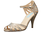 Blue by Betsey Johnson - Sweet (Champagne Fabric) - Footwear