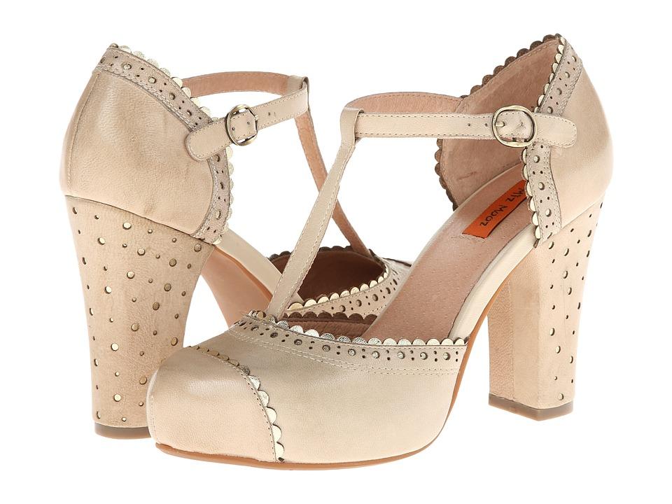 Miz Mooz Flossy (Cream) Women's Shoes