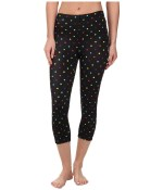 CW-X 3/4 Stabilyx Tights Print (Black/Polkadot) Women's Workout