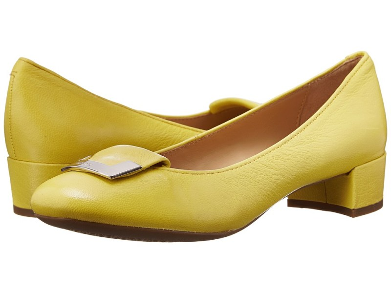 Geox - D Carey 12 (Light Yellow) Women's Shoes