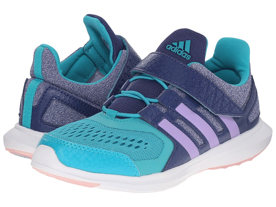 adidas Kids Hyperfast EL Little Kid Big Kid Girl's Athletic Shoes