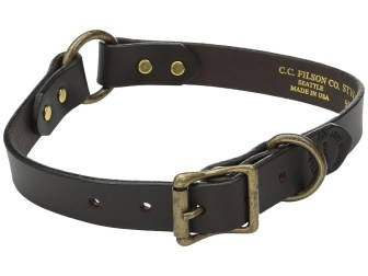 Filson - Dog Collar (Brown) Dog Collar
