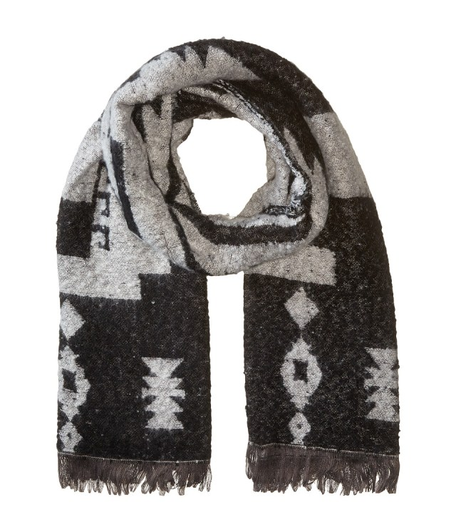 Michael Stars - Mesa Steps Blanket Scarf (Black) Scarves