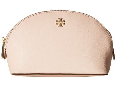 Tory Burch - Robinson Small Makeup Bag (Pale Apricot) Toiletries Case