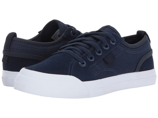 DC Kids - Evan (Little Kid/Big Kid) (Navy) Boys Shoes