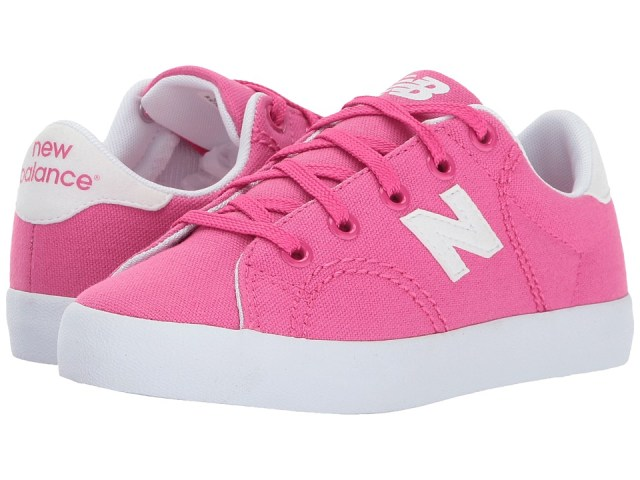 New Balance Kids - Pro Court (Little Kid/Big Kid) (Pink/White) Girls Shoes