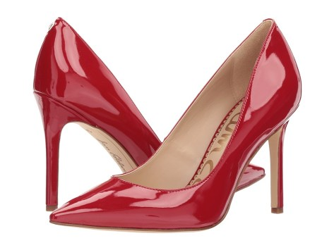 Sam Edelman - Hazel (True Red Patent) Women's Shoes