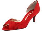 Nina - Culver (Red Rouge Luster Satin) - Footwear