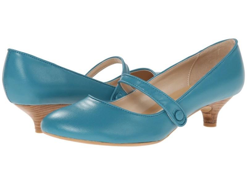 Gabriella Rocha - Ginger (Turquoise Leather) Women's Maryjane Shoes