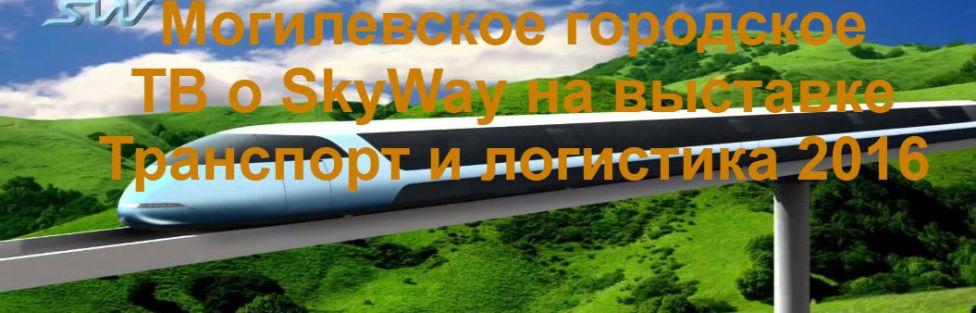 Где заработать деньги вложением. Могилевское городское ТВ о Sky Way на выставке Транспорт и логистика 2016