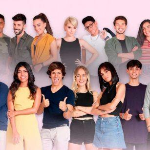 Firma de discos de OT en Zaragoza - Portada con todos los participantes de RTVE del programa Operación Triunfo 2018