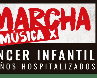 Concierto benéfico contra el cáncer infantil - Portada de la Gala ¡En marcha! Música x el cáncer y los niños hospitalizados
