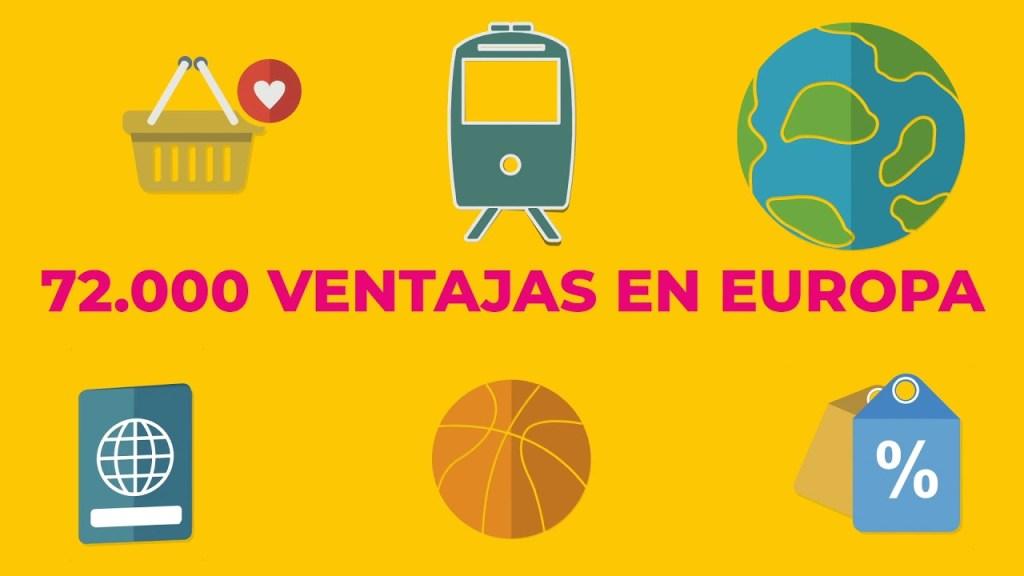 30 Aniversario del Carné Joven Europeo - Más de 72.000 propuestas para disfrutar por toda Europa de descuentos y promociones
