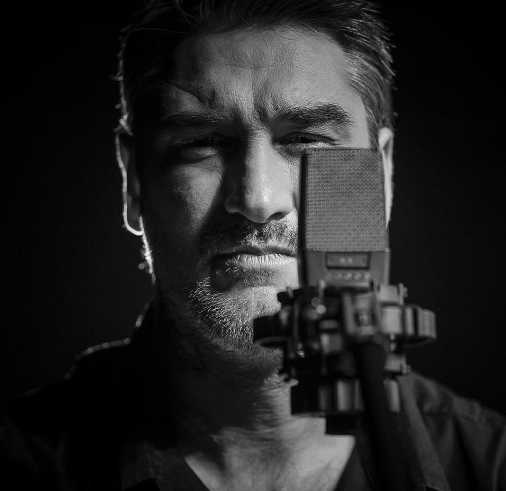 Kase O - Foto de Gustaff Choos - Kase O en la grabación de su último trabajo El Círculo