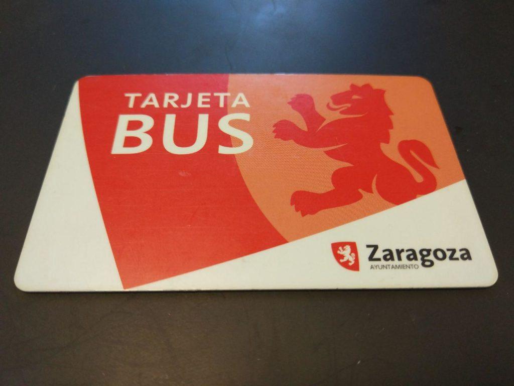 Moverte en autobús por Zaragoza - Tarjeta bus con la que moverte por toda la ciudad tanto con bus, tranvía, etc