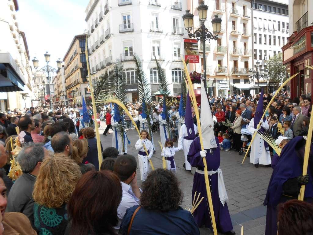 Foto de Zaragoza Turismo - Domingo de Ramos que da comienzo a la Semana Santa en Zaragoza