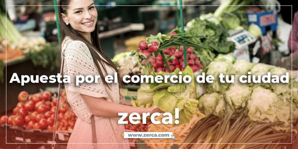 Desde zerca! apuestan por el comercio de tu ciudad, y tú, quieres apostar también por zerca! para comprar en los más de 400 comercios adheridos