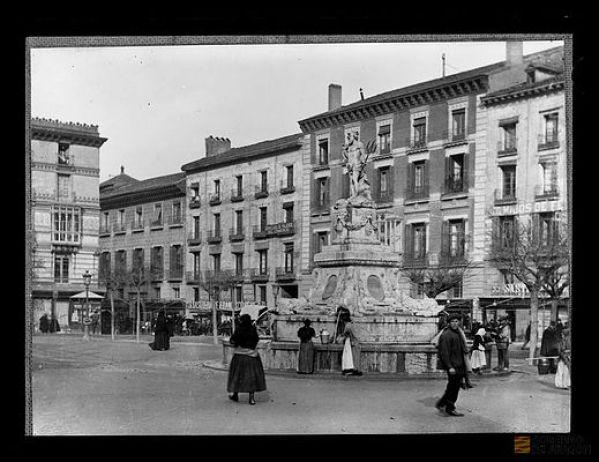Fuente de la princesa, la fuente más antigua de Zaragoza