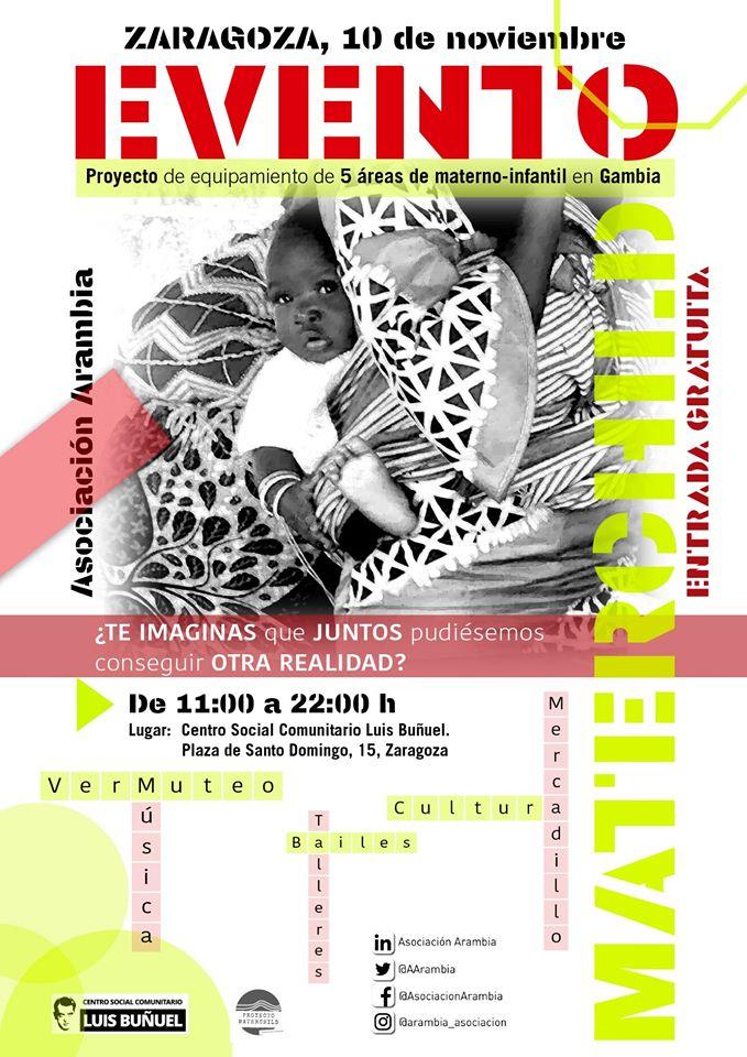 Arambia 10 noviembre presentacicón Materchild