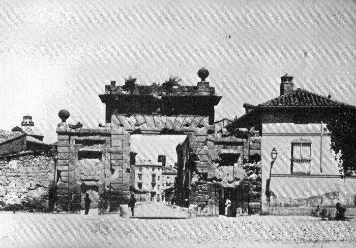 La Puerta del Carmen antigua