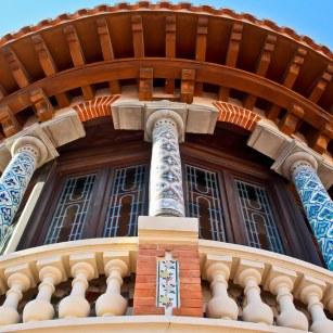Fuente Flickr. Detalle de la fachada de la Casa Solans
