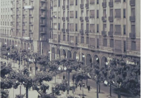 Antiguos cines de Zaragoza - Teatro Argensola
