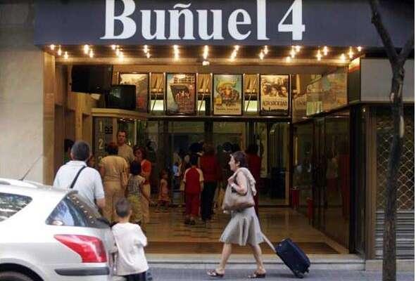 Antiguos cines de Zaragoza - Multicines Buñuel