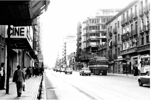 Antiguos cines de Zaragoza - Cine Madrid