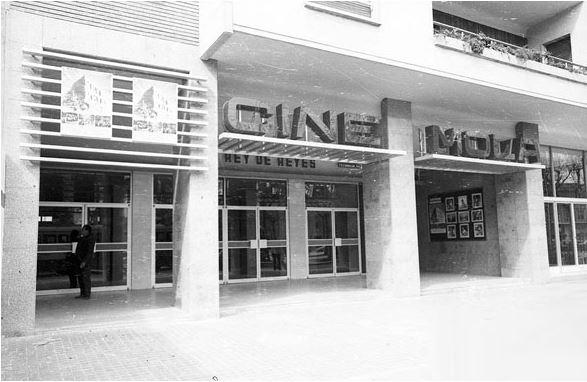 Antiguos cines de Zaragoza - Cine Mola