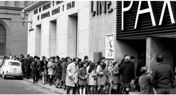 Antiguos cines de Zaragoza - Cine Pax