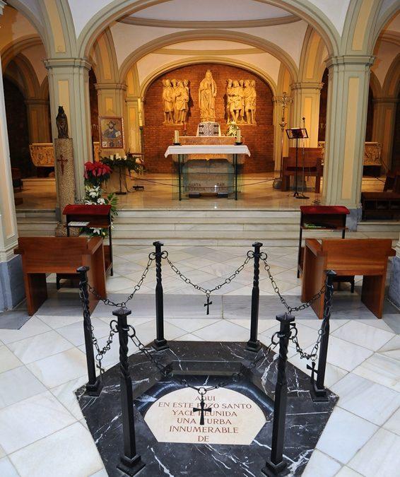 Fuente Basílica de Santa Engracia. La cripta de la Basílica de Santa Engracia