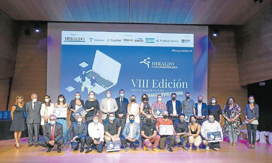 Clausura premios Aragón en la red