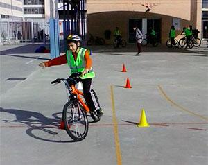La Bicicleta en la Escuela